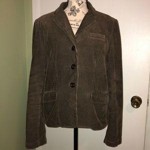 J. CREW Brown Corduroy Jacket Size L